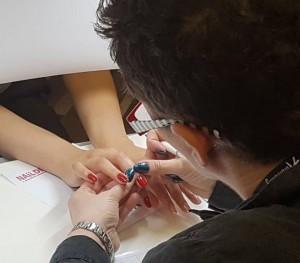 Nail design sodnice ocenjevanje-mala